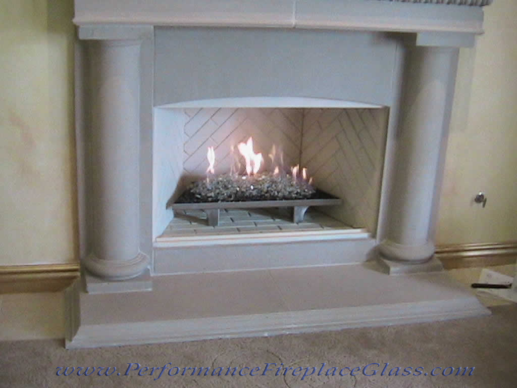 performance fireplace glass